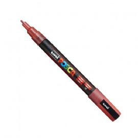 Posca - PC-3ML Fine Bullet Tip - Water Based Paint Marker - Sparkling Red